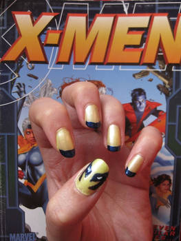 wolverine nails by mellowmonsoon