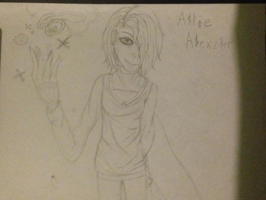 Ally from the Creepata story by Prodestiny