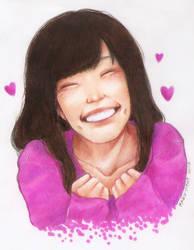 Momoclo's smile! by Kazu-Mimi