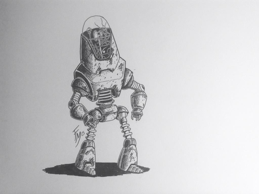 InkTober Day 13 by Sketch-Fox