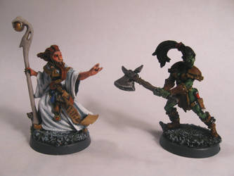 Invoker and Barbarian