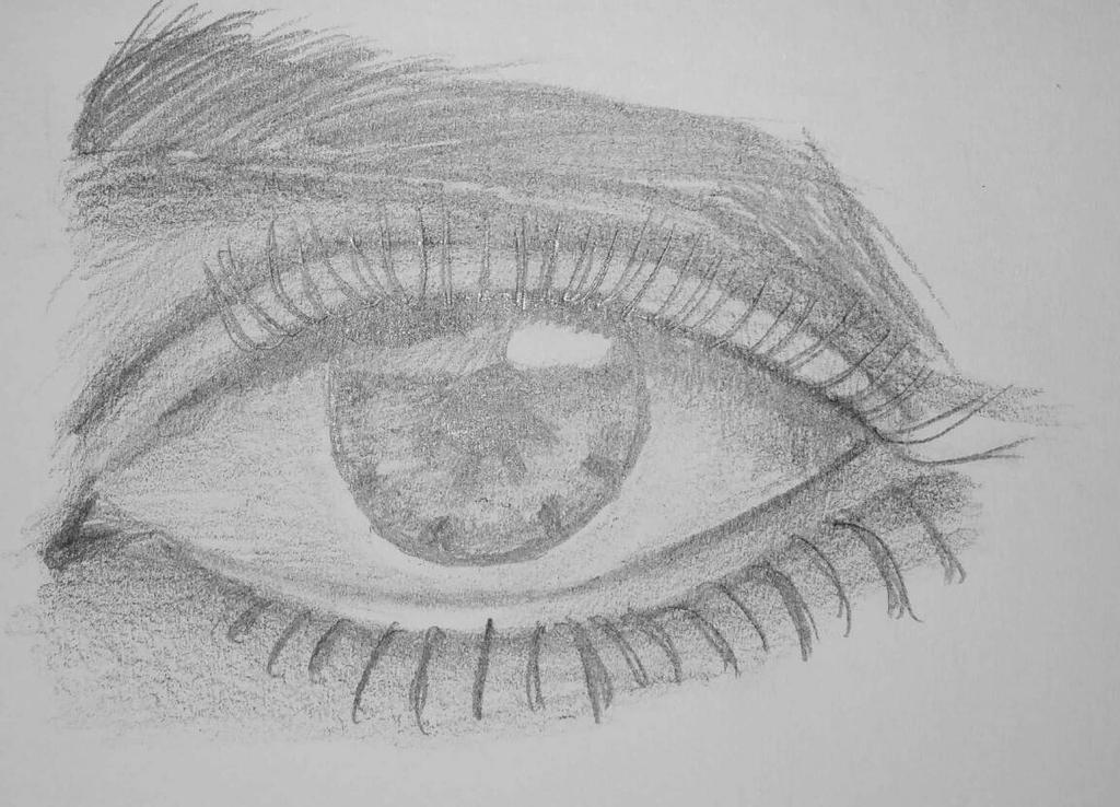 Eye Practice 1 by KaoticKanine