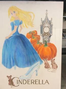 ART 117 Illustration Poster - Cinderella