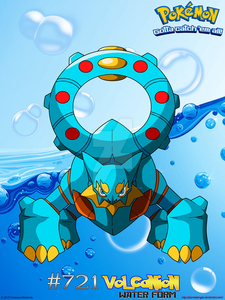 Volcanion Pokemon Forms Images Pokemon Images