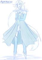 Aquamarine .:sketch:. by Luluzii