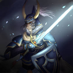 Warrior of Light by Luluzii