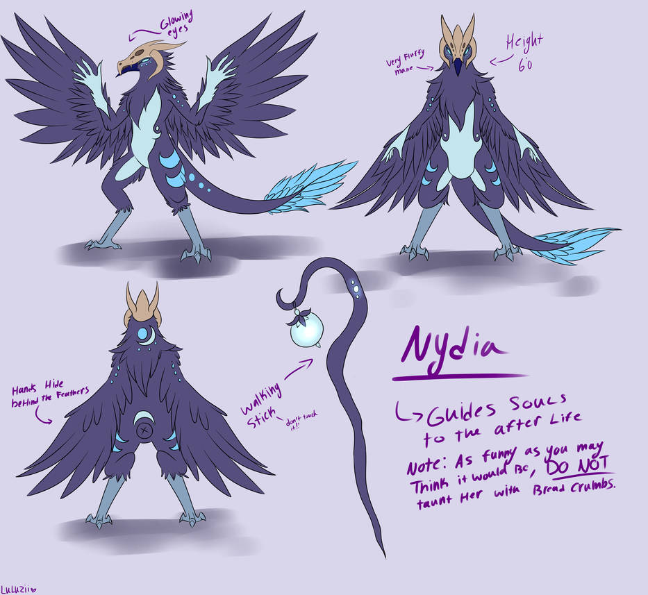 Nydia Ref by Luluzii