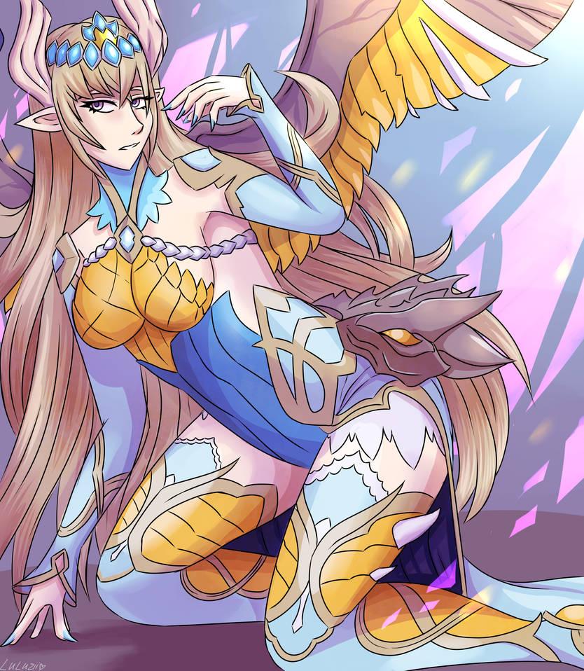 Dragon caller Amnel by Luluzii
