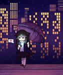 Rain and favs by Luluzii