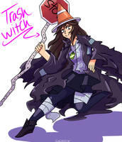 A trash witch by Luluzii