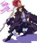 A trash witch