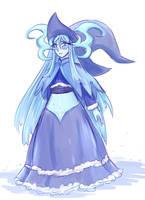Ice witch by Luluzii
