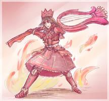 Teostra Armor by Luluzii