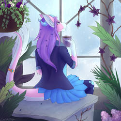 Waiting for Spring by Luluzii