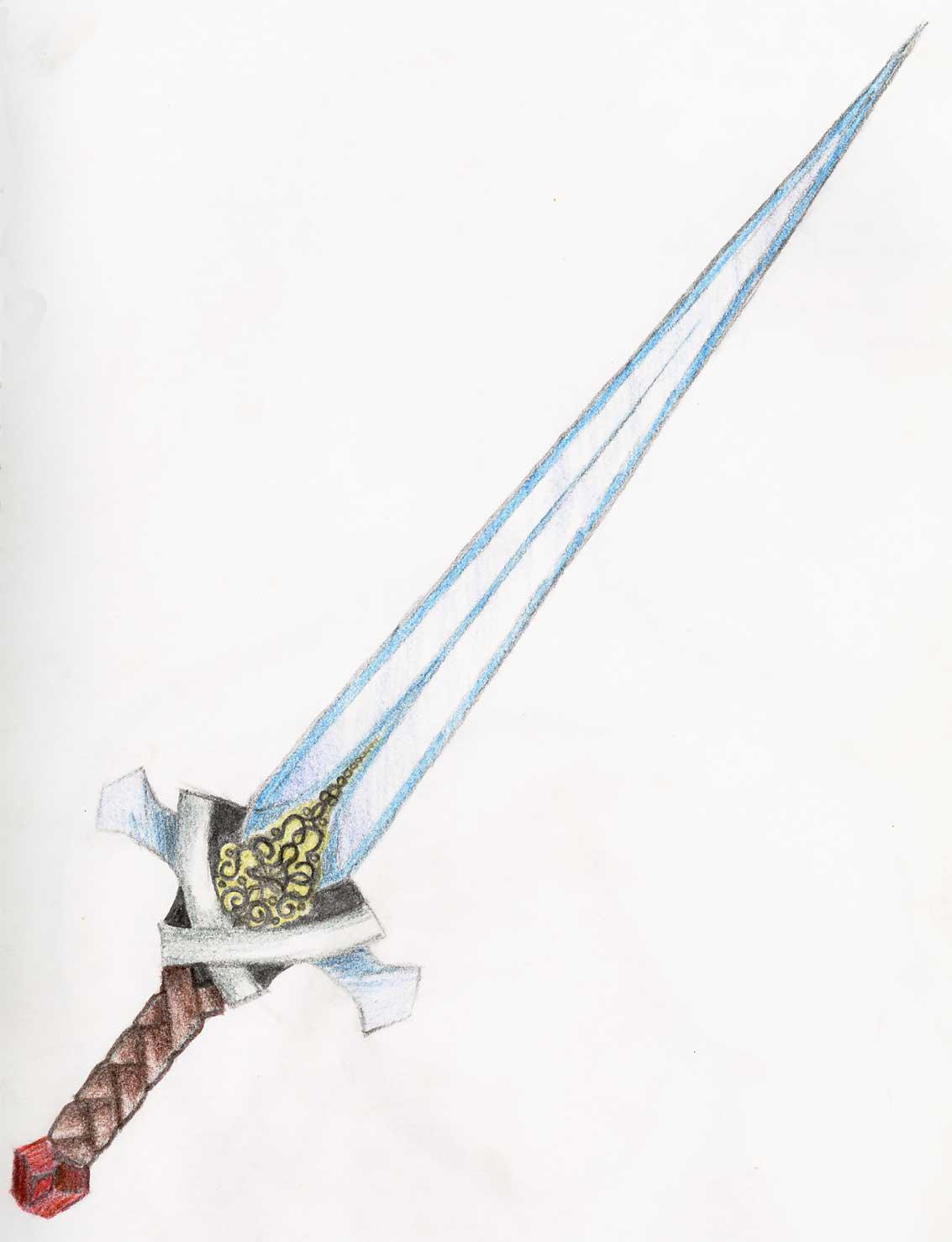 Sword by bluetigerkitty on deviantART