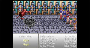 Sailor Moon Scarlet (Gameplay Preview Pic #2)