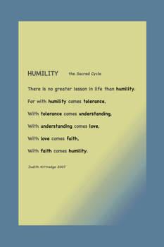 Humility  blue