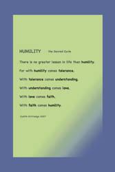 Humility   purple