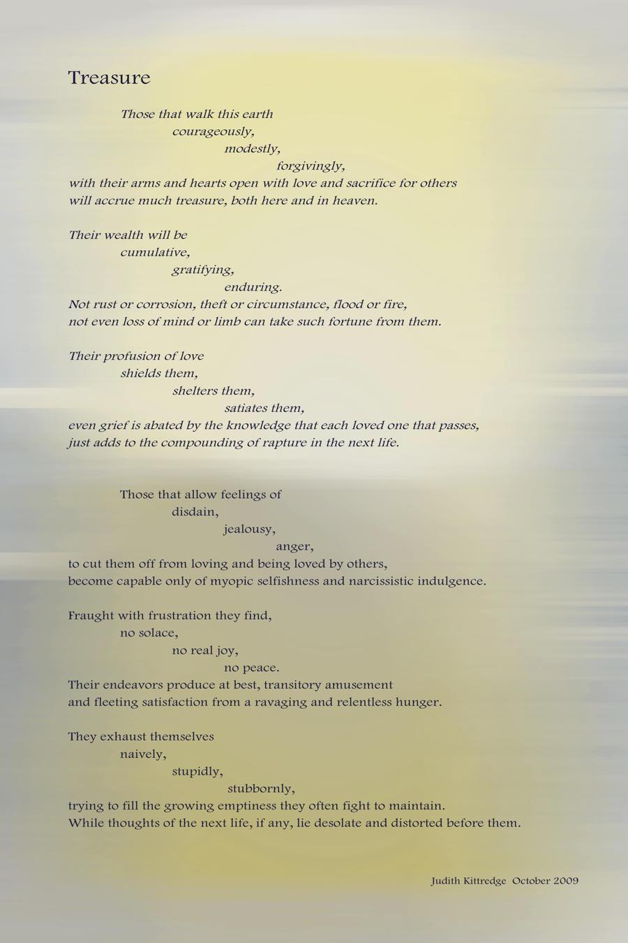 Treasure   yellow by JKittredge