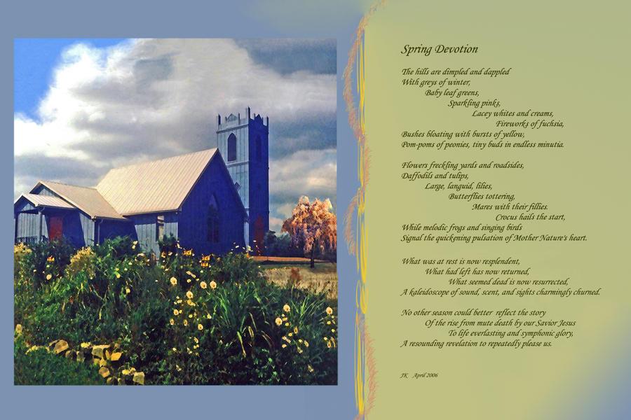 Spring Devotion by JKittredge