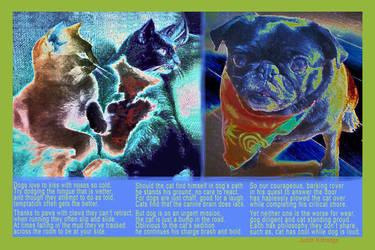 DogCat12x18 by JKittredge