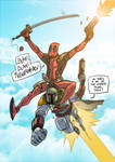 Deadpool teams up with Boba Fett