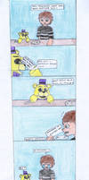 Fnaf comic: the fortune cookie