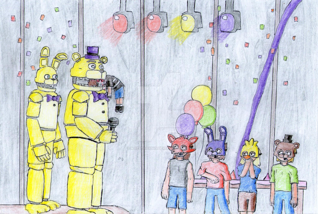 fnaf the bite of 83 by maestrox545