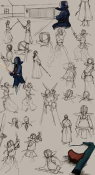 more kendo sketches