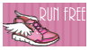 Run stamp by regina35nocis