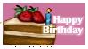 Birthday Cake stamp by regina35nocis