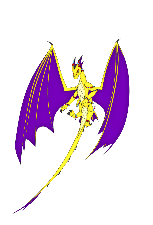 Dragon of gold by saim-kurom