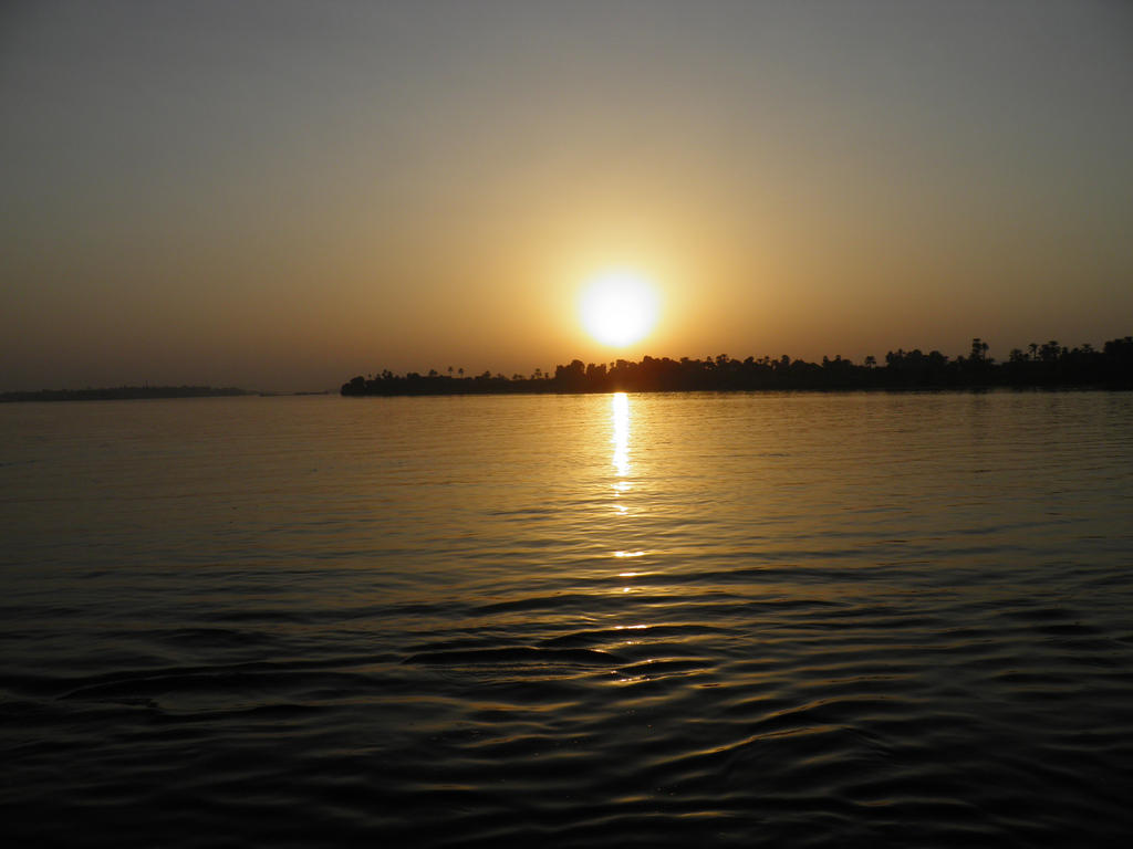 Sunset over the Nile 1