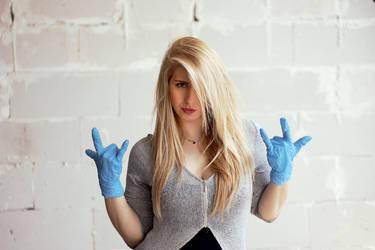 Blue Gloves Pt. III by starlit-sky
