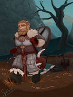 Dwarf and hiking by spatialis