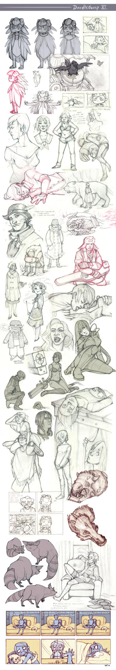 Doodledump XI by frizz-bee
