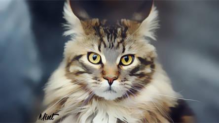 Cat Mint by mintstudios