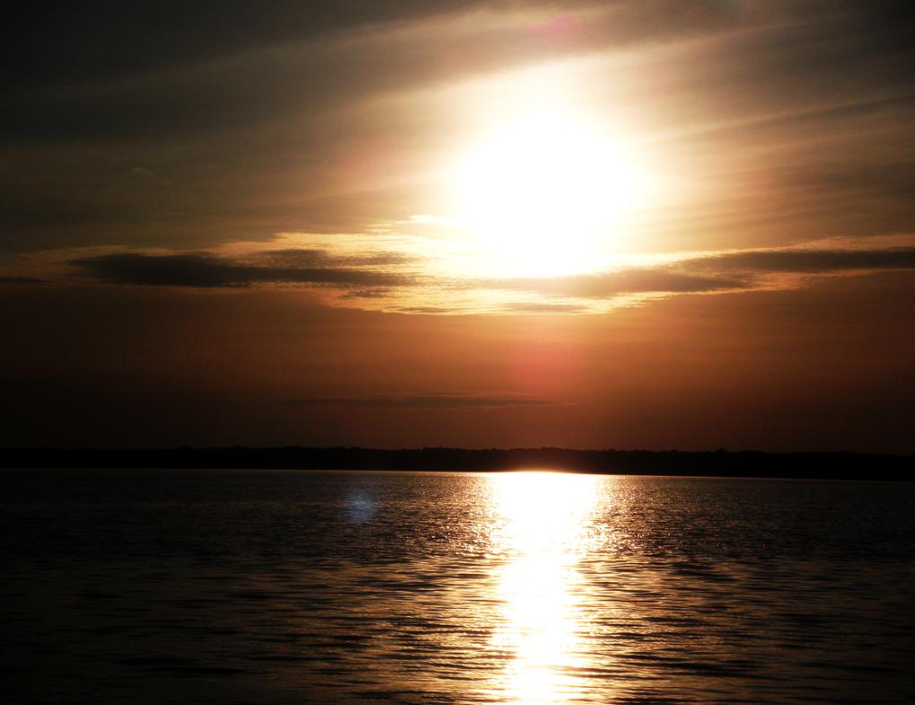 Long Island Sunset by MewberryCake