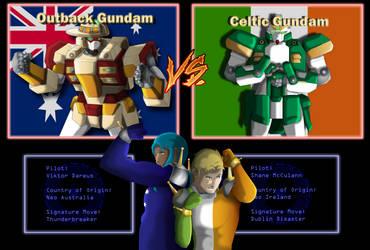 Gundam Fight, Ready... GO!