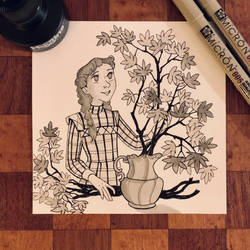 Anne in October