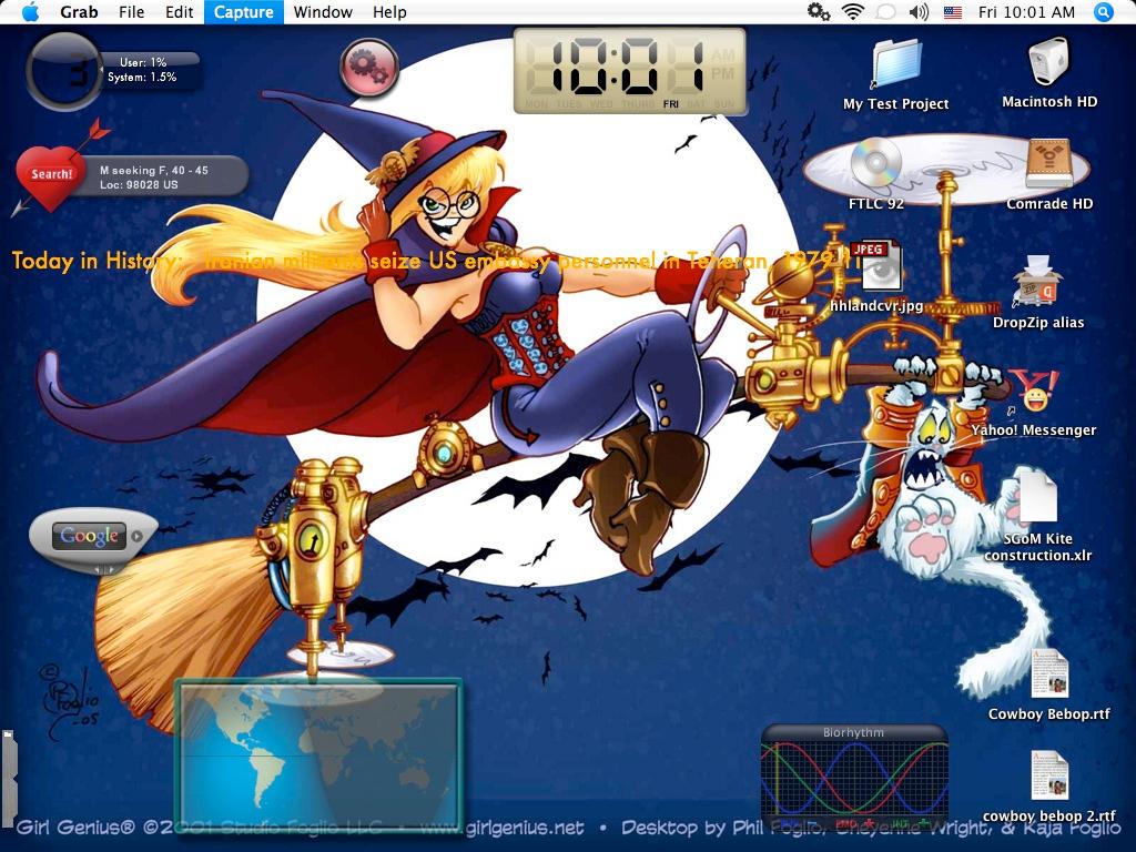Desktop shot by kedamono-mizudori