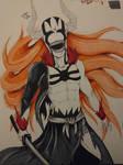 Ichigo's Hollow form by NephilimPixie