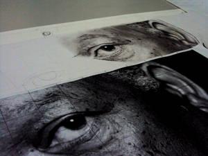 Morgan freeman portrait WIP