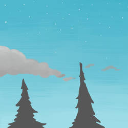 tree tops by Tostinoes