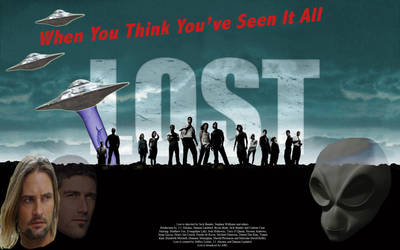 Lost Filmposter by Hulzebos