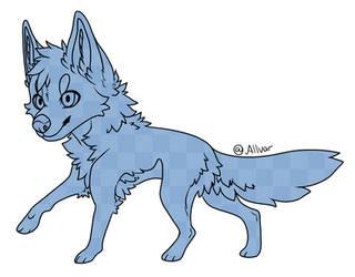 P2U Chibi Wolf Base by AllvarBae