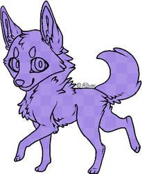 P2U Chibi Canine Pixel Base by AllvarBae