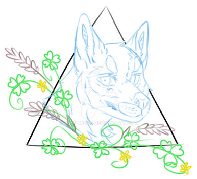 [Open] Doggo With Flowers YCH by AllvarBae