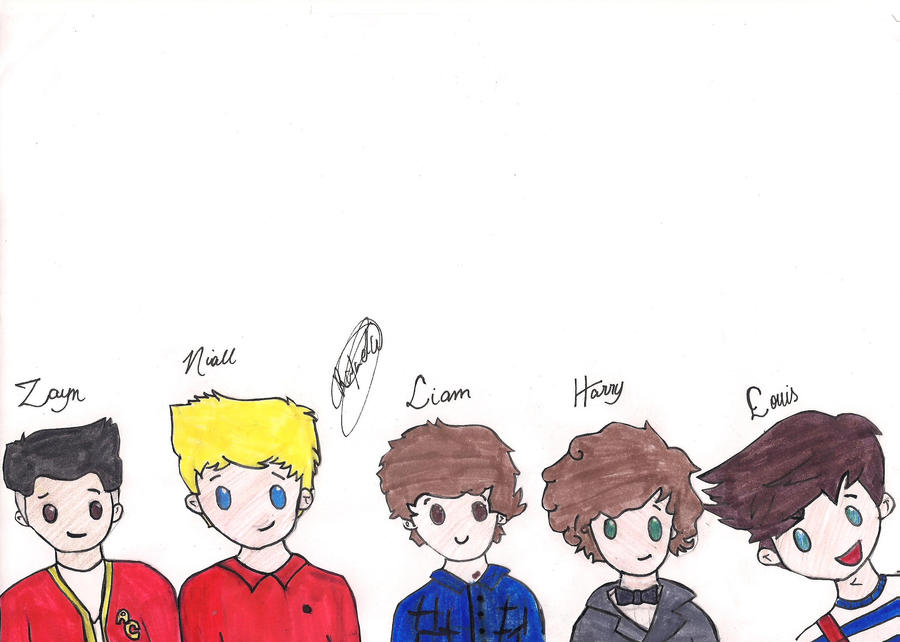 One Direction by DemigodWizardGleek
