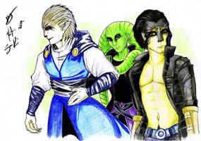 Jedi Trio by Adalgeuse